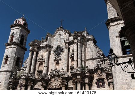 Cathedral In Habana, Cuba