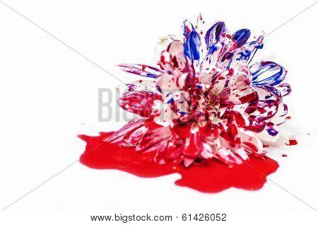 Bleeding Painted Flower