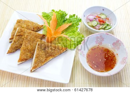Thai Food Fish Cake ( Tod Mun Pla )