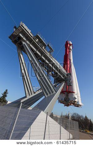 Rocket Vostok Rear View
