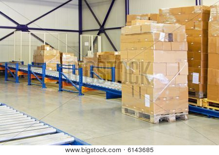 Conveyer Transport Ramp