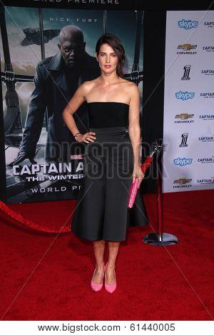 LOS ANGELES - MAR 13:  Cobie Smulders at the