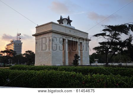 Independence Arch, Ghana