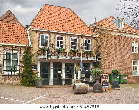 Restaurant In The Dutch Town Of Heusden