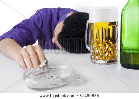 Alcohol And Smoking Addiction