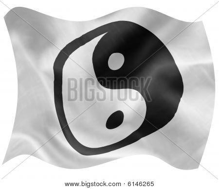 yin yang flag
