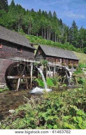 Hexenloch Watermill,Black Forest,Germany
