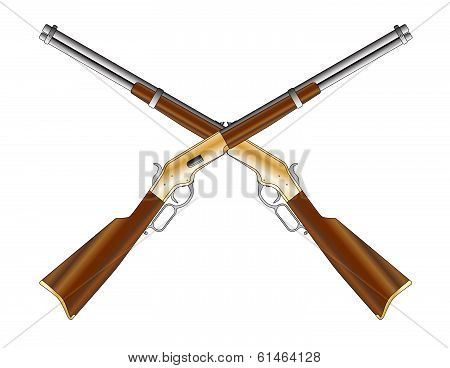 Crossed Rifles