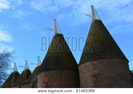 Oast House's in Kent,England.