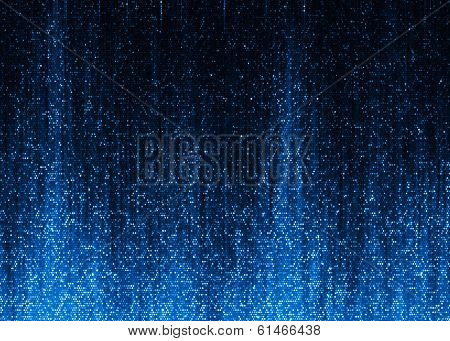 Blue sparkle glitter background.