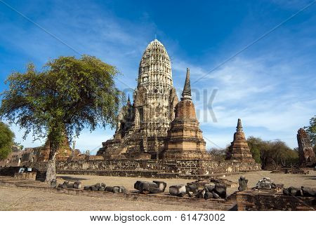 Wat Racha Burana, Ayudhya Province, Thailand