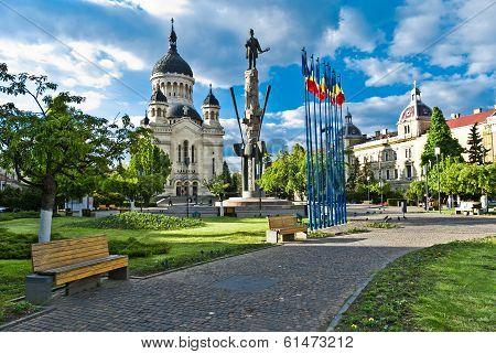 Avram Iancu Square,Cluj-Napoca,Romania