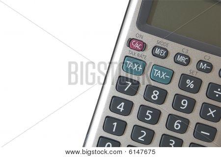 Calculator, isolated