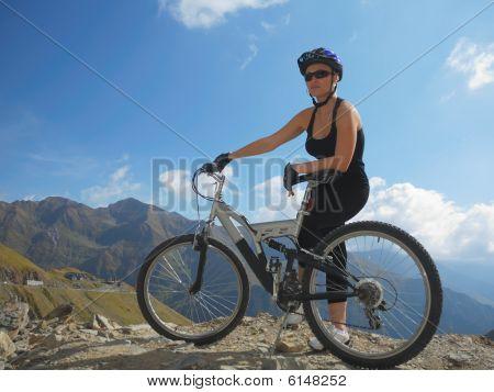 Biker Resting