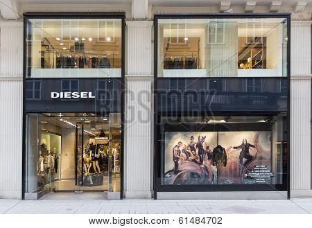 Diesel Shop In Vienna