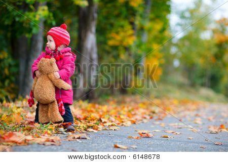 Toddler Girl Outdoors