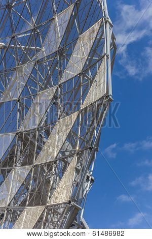 Detail Of A Radio Telescope