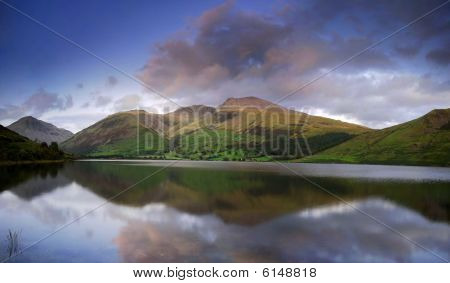 Wastwater at dusk