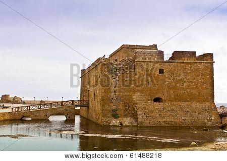 Medieval castle in Cyprus.