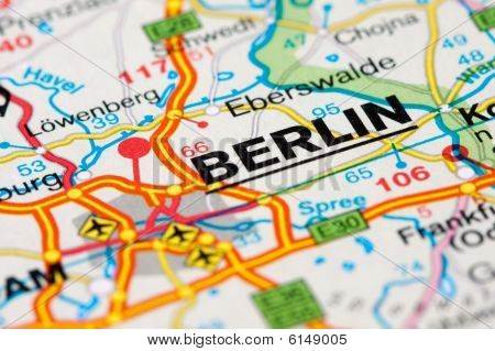 Road Map Around Berlin