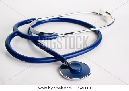Studio shot of a stethoscope