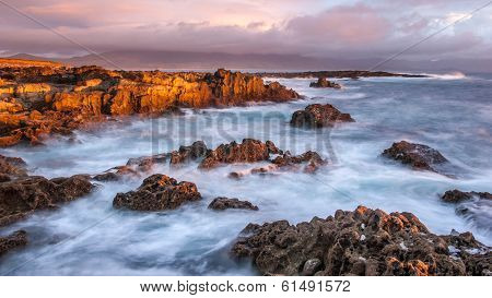 Seascape Sunset in Kerry, Ireland