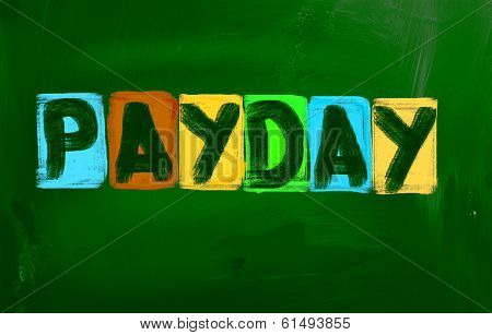 Payday Concept