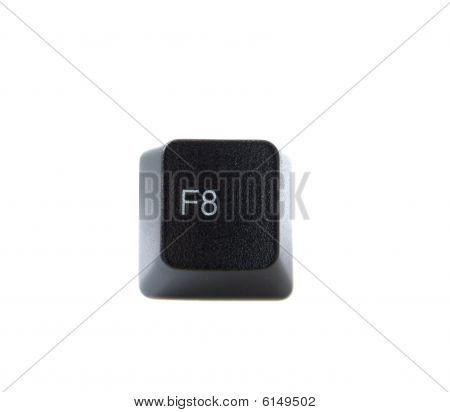 Keyboard F8 Key