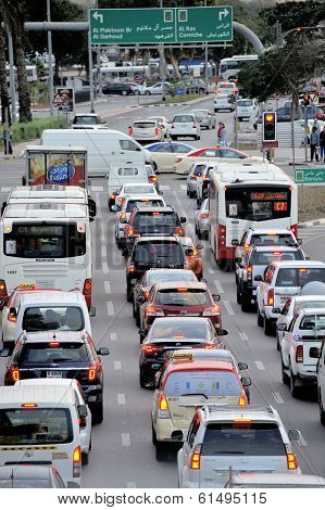 Rush Hour In Dubai