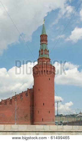 Beklemishevskaya (moskvoretskaya) Tower Of Moscow Kremlin