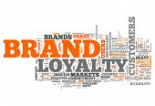 image of loyalty  - Word Cloud with  - JPG