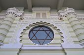 picture of synagogue  - The synagogue on Bolshaya Bronnaya was opened in 1883 - JPG