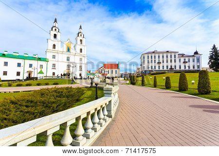 The Cathedral Of Holy Spirit - Symbol Of Minsk, Belarus