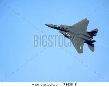 F15 Eagle fighter jet