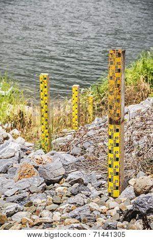 Water Level At The Dam