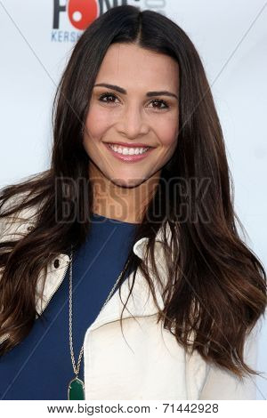 LOS ANGELES - SEP 4:  Andi Dorfman at the Ping Pong 4 Purpose Charity Event at Dodger Stadium on September 4, 2014 in Los Angeles, CA