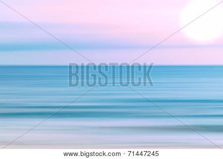 Abstract Sky And  Ocean Nature Background