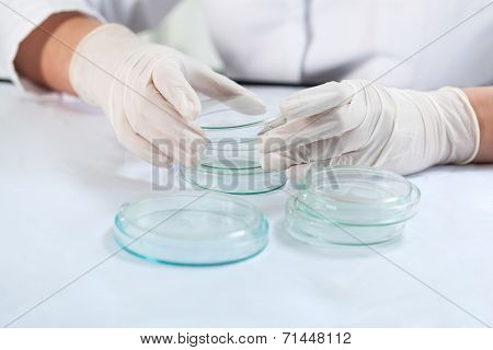 Scientist Before Doing Experiment