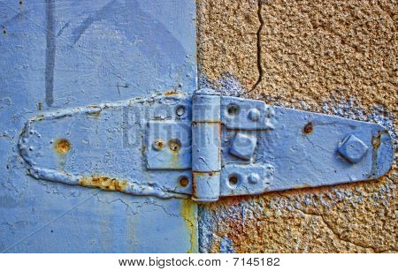Vintage Blue Hinge