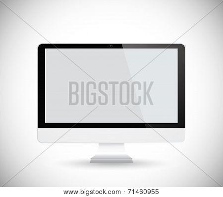 Vector computer display