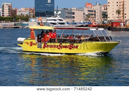 Barcelona Speed Boat - Port Vell
