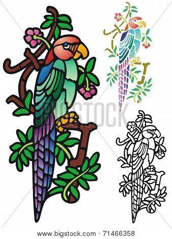 Fantasy parrot
