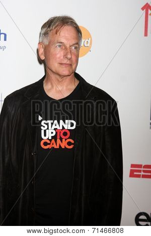 LOS ANGELES - SEP 5:  Mark Harmon at the Stand Up 2 Cancer Telecast Arrivals at Dolby Theater on September 5, 2014 in Los Angeles, CA