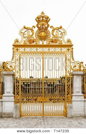 Golden Gate At Versailles Palace
