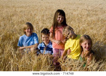 Children In Cereal