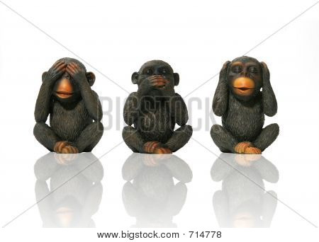 See No Evil. Speak No Evil, Hear No Evil