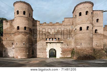 Porta Appia or Porta San Sebastiano