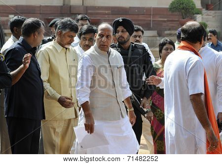 BJP at Rastrapati Bhawan