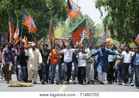 BJP party Workers