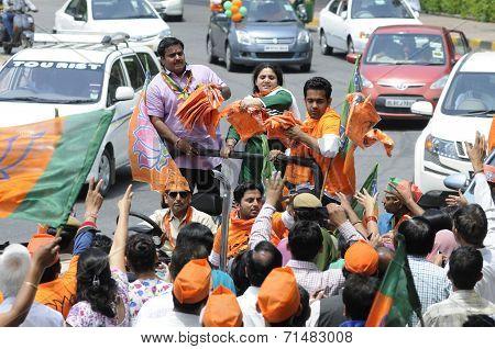 Modi visits NewDelhi